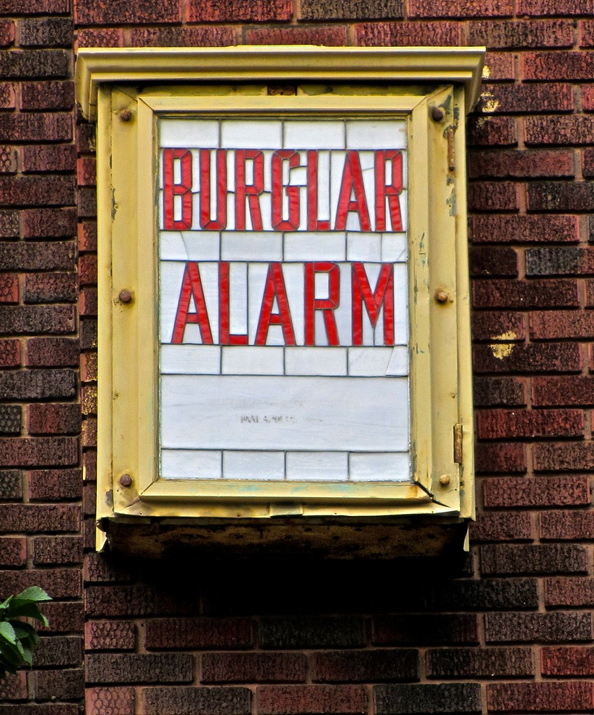 keep your home safe from burglars, burglar alarm