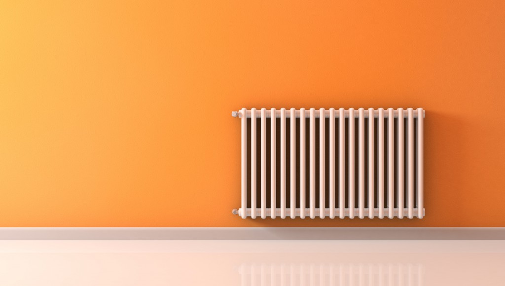 Stone cold radiators, central heating