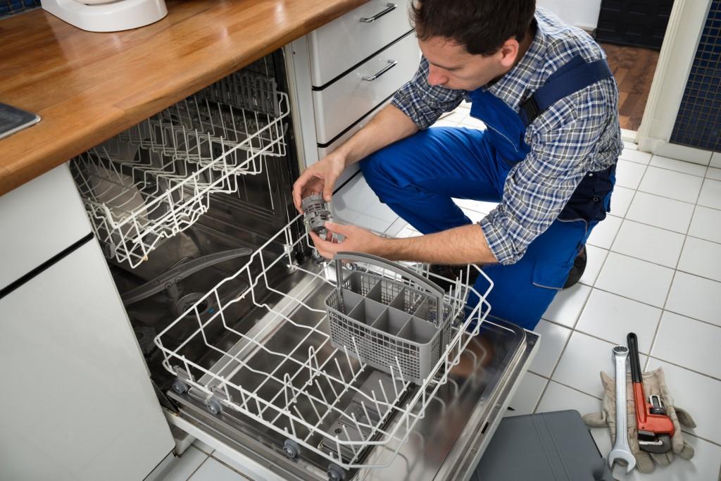 dishwasher not draining properly