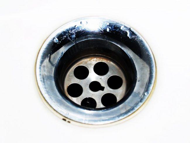 drain close up