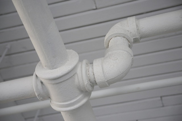 Leaking Water Supply Pipe