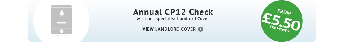 annual cp12 with landlord cover