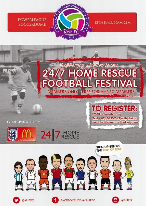 AHF FC, 4|7 Home Rescue Football Festival