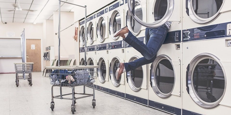 My washing machine smells – help!