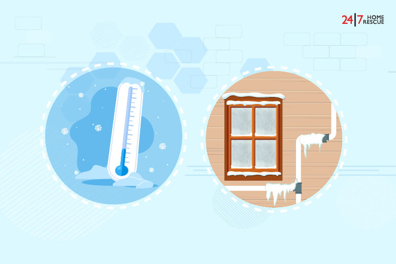 how does a condensate pipe freeze