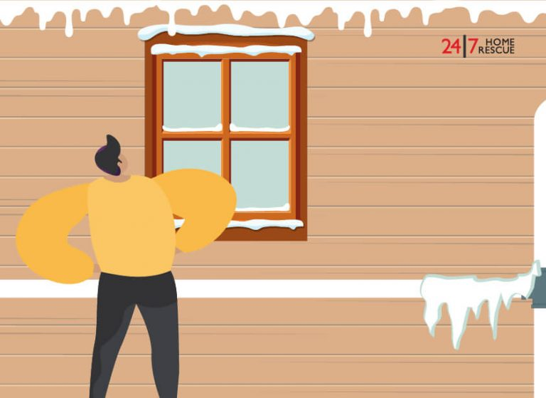 how to defrost frozen condensate pipe