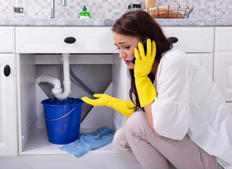 how to fix a water leak