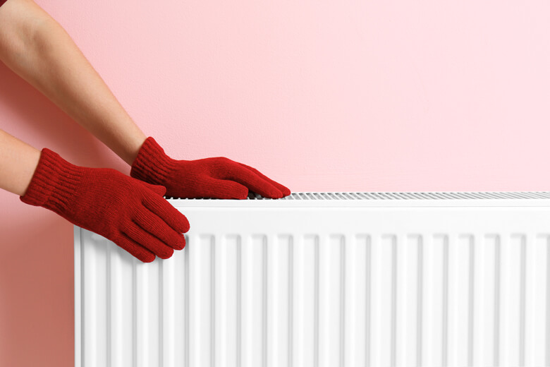 Identify which radiators need bleeding