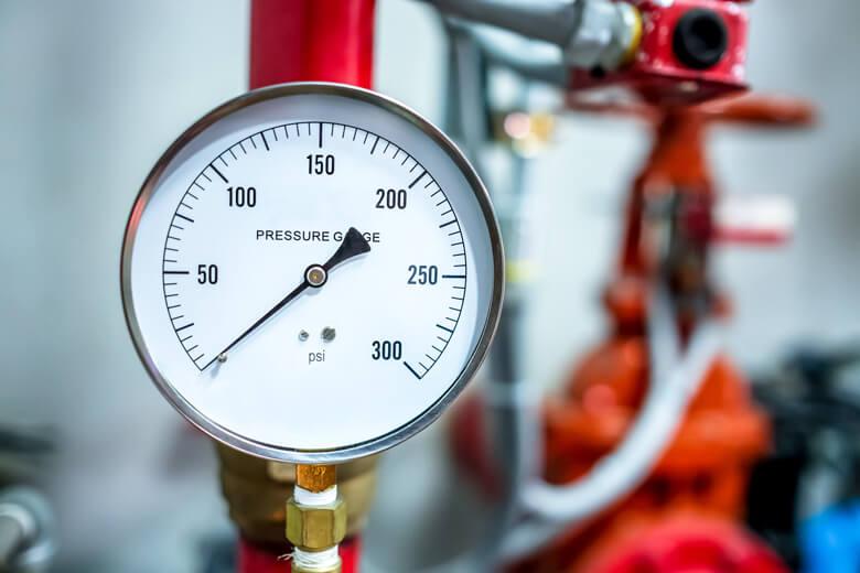check the boiler pressure