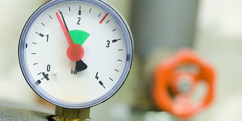 boiler pressure too high or low