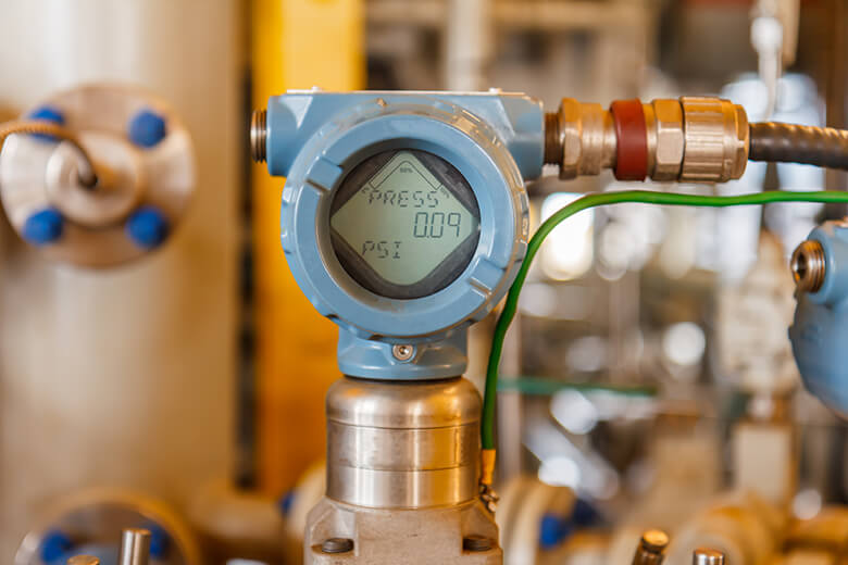 how to check the boiler pressure