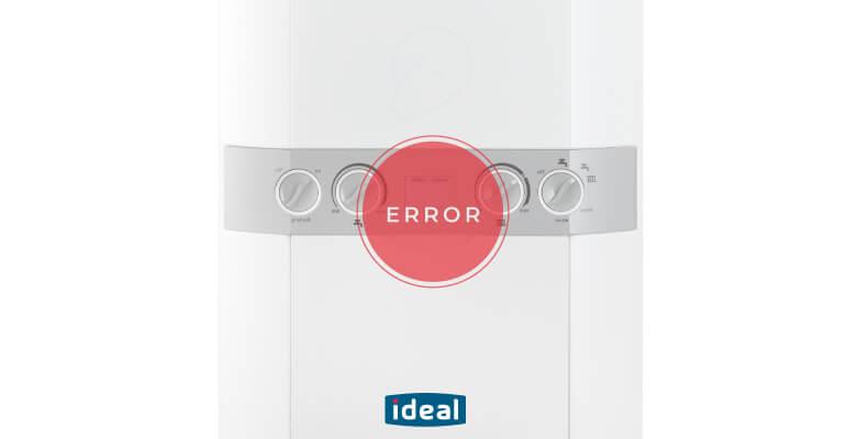 ideal boiler L fault codes