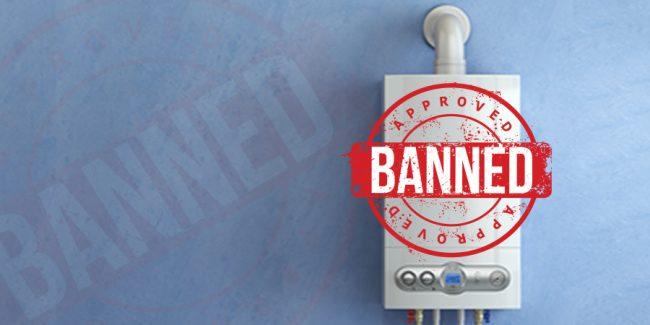 gas boiler ban uk
