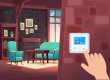 What's the ideal room temperature for a living room?